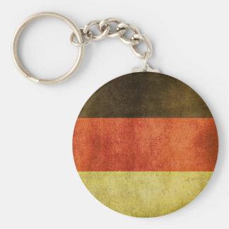 Llavero con la bandera sucia de Alemania