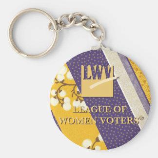 Llavero conmemorativo del botón de 2013 LWV