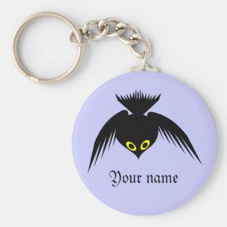 Llavero conocido de encargo del cuervo