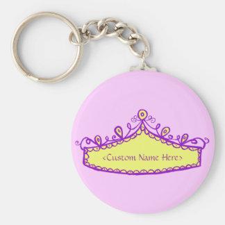 Llavero conocido de princesa Tiara Yellow Crown Cu