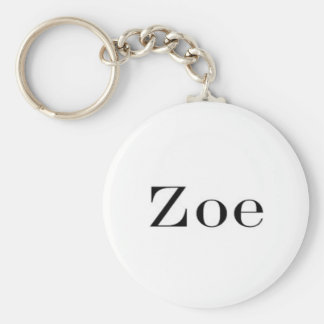 Llavero conocido de Zoe