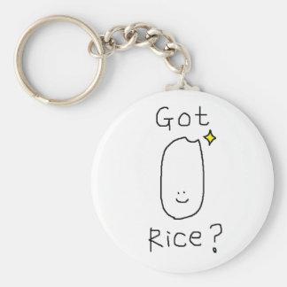 Llavero conseguido del arroz