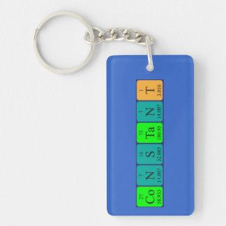Llavero constante del nombre de la tabla periódica