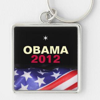 Llavero cuadrado del premio de OBAMA 2012 (grande)