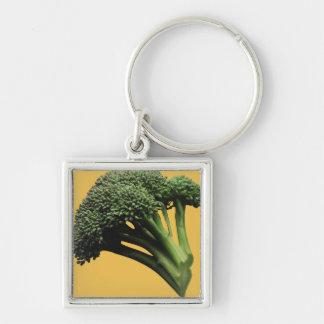 Llavero cuadrado superior grande del bróculi