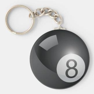 Llavero de 8 bolas