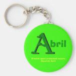 Llavero de Abril