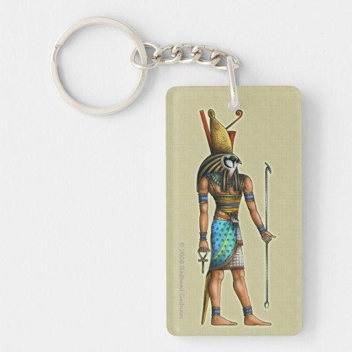 Llavero de acrílico de Horus rectangular
