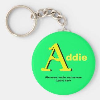 Llavero de Addie