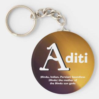Llavero de Aditi