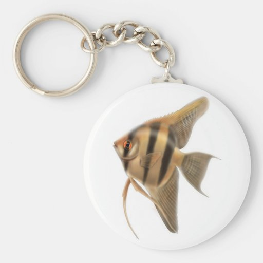 Llavero de agua dulce del Angelfish