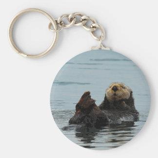 Llavero de Alaska de la nutria de mar