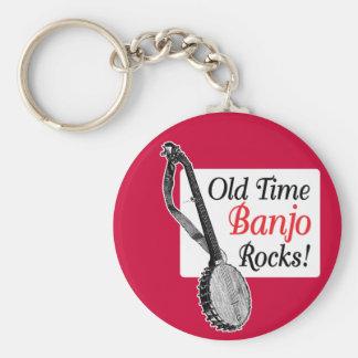Llavero de antaño del banjo