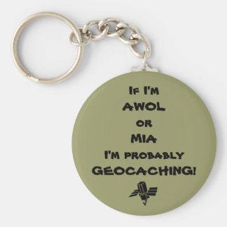 Llavero de AWOL/MIA Geocaching