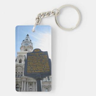 Llavero de ayuntamiento de Philadelphia