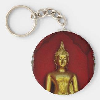 Llavero de Buda del oro