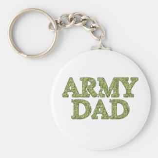 Llavero de Camo del papá del ejército