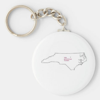 Llavero de Carolina del Norte