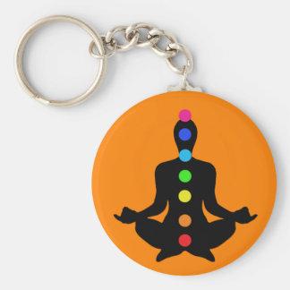 Llavero de Chakras de la yoga