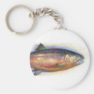Llavero de color salmón