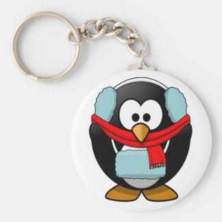 Llavero de congelación del pingüino