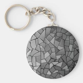 Llavero de cristal del mosaico
