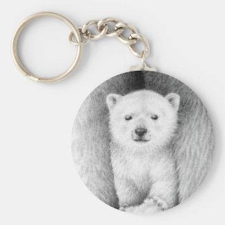 Llavero de Cub del oso polar