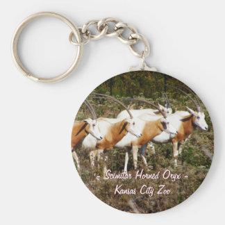 Llavero de cuernos del Oryx del Scimitar