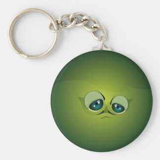 Llavero de CutieBounce verde oscuro