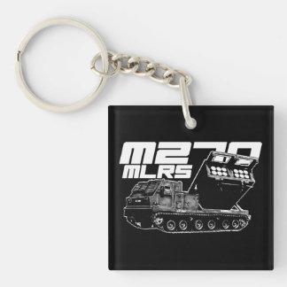 Llavero (de doble cara) del cuadrado del MLRS M270
