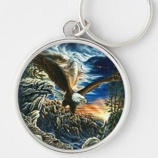 Llavero de Eagle del arte de la fantasía