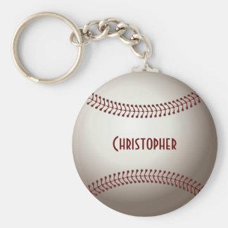 Llavero de encargo de la bola del béisbol