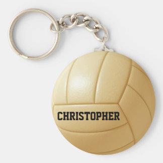 Llavero de encargo de la bola del voleibol