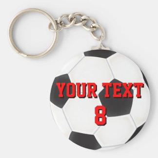 Llavero de encargo del balón de fútbol