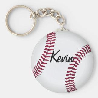 Llavero de encargo del béisbol