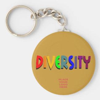 Llavero de encargo del moreno de la diversidad
