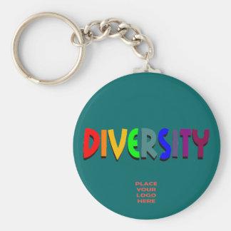 Llavero de encargo del trullo de la diversidad