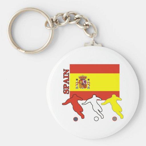 Llavero de España del fútbol