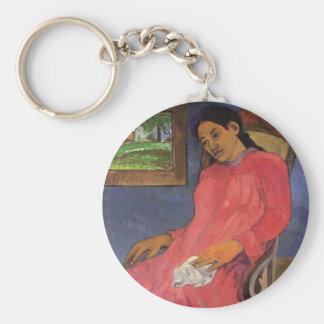 """Llavero de """"Faaturuma (melancolía)"""" - Paul Gauguin"""