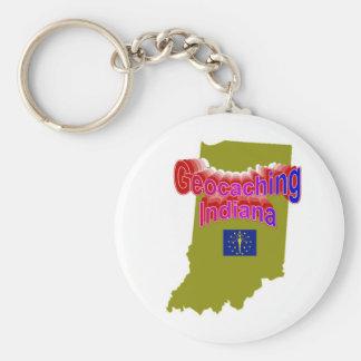 Llavero de Geocaching Indiana