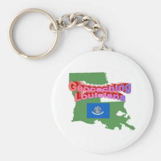 Llavero de Geocaching Luisiana