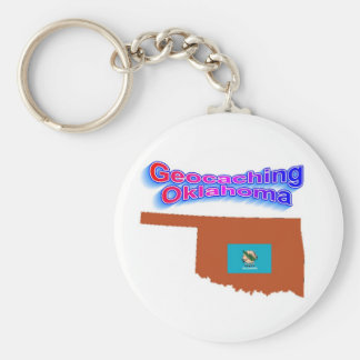 Llavero de Geocaching Oklahoma