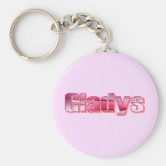 Llavero de Gladys