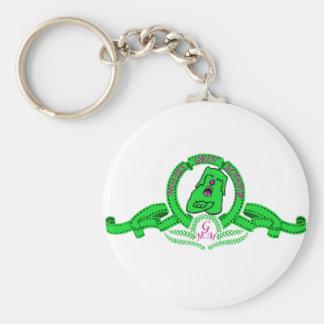 Llavero de Grin el perrito verde Key Chains