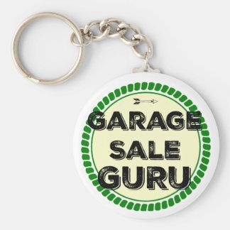 Llavero de Guru de la venta de garaje