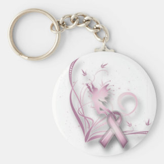 Llavero de hadas del cáncer de pecho