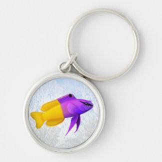 Llavero de hadas real de los pescados del filón de