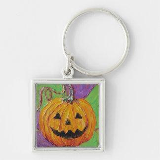 Llavero de Halloween de la Jack-O-Linterna