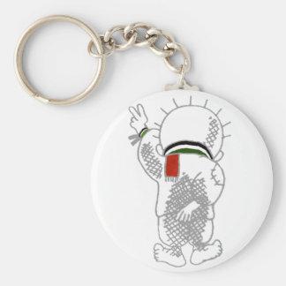 Llavero de Handala (niño palestino)