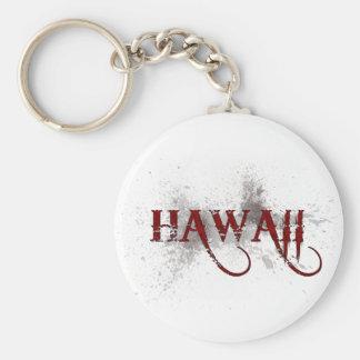 Llavero de Hawaii del Grunge de la sangría